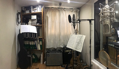Sound recordings room JMB Studio